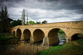 Old stone bridge in Richmond Tasmania - Oldest bridge in Australia — Stock Photo