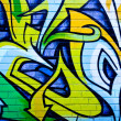 Street art by unidentified artist. Melbourne — Stock Photo
