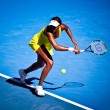 MELBOURNE, AUSTRALI- JANUARY 23: Venus Williams during her thi — Stock Photo #30909595