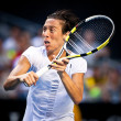 MELBOURNE - JANUARY 23: Francesca Schiavone of Italy in her mara — Stock Photo