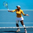 Stock Photo: MELBOURNE, AUSTRALI- JANUARY 26: SerenWilliams on her way to