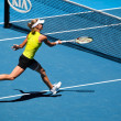MELBOURNE, AUSTRALIA - JANUARY 26: Maria Kirilenko in action at — Stock Photo