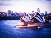 SYDNEY, AUSTRALIA - AUG 31 : Sydney's most famous icon, the Sydn — Stock Photo