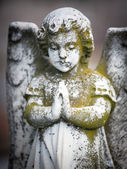 Beautiful Sculpture at a Melbourne Cemetery — Stock Photo