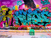 MELBOURNE - SEP 15: Street art by unidentified artist. Melbourne — Stock Photo