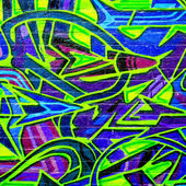 MELBOURNE - OCT 25: Street art by unidentified artist. Melbourne — Stock Photo