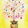 Easter tree - Stock Photo