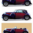 Vintage car — Stock Vector #24991207