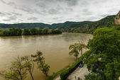 Danube river — Stockfoto