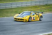 Carro de corrida — Fotografia Stock