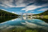 Misurina lake — Stock Photo
