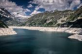 Kaprun lake — Stock Photo