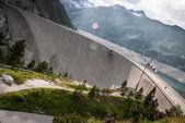 Kaprun barajı — Stok fotoğraf