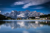 Misurina lake — Stock Photo