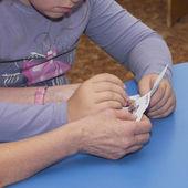 Needlework — Foto Stock