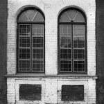 Vintage windows with lattices — Stock Photo #40548253
