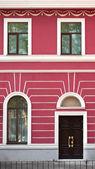 House, windows, doors — Stock Photo
