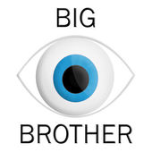 Big bother is watching you concept — Stock Photo