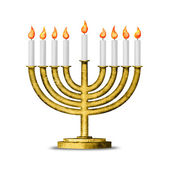 Hanukkah and all things related — Stock Photo