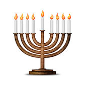 Hanukkah et toutes les choses liées — Photo