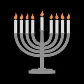 Hanukkah y todo lo relacionado — Foto de Stock