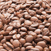 Well roasted coffee beans — Stock Photo