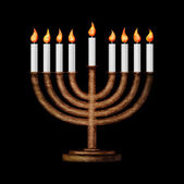 Hanukkah and all things related — Стоковое фото