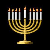 Hanukkah e todas as coisas relacionadas — Foto Stock