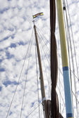 Mast and rigging — Stock Photo
