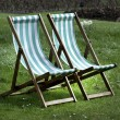 Deckchairs — Stock Photo #33967527
