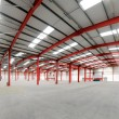 Vacant Warehouse interior — Stock Photo