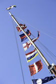 Ships Flags — Stock Photo