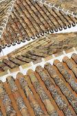 Pantiled střechy — Stock fotografie