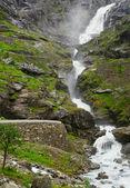 Stigfossen waterfall — Stock Photo