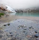 ледник briksdal — Стоковое фото