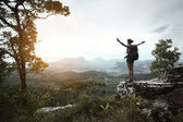 Backpacker — Foto Stock