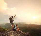 Excursionistas — Foto de Stock