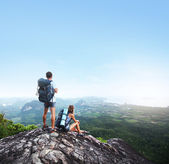 Backpackers — Stock Photo