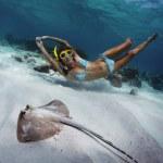 Snorkeling — Stock Photo #18355003