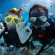 scuba diving — Stock Photo