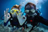 Scuba diving — Stock Photo