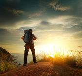 Alpinista — Foto Stock