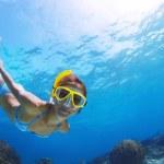 Snorkeling — Stock Photo #21103839