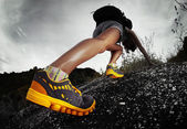 Escursionista — Foto Stock
