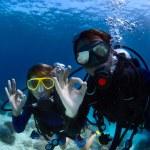 mergulhadores — Foto Stock