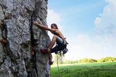 登山者 — 图库照片