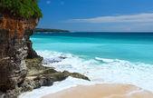 Coast with sandy beach — Stock Photo