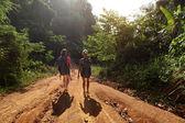 Escursionisti — Foto Stock