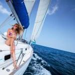 Постер, плакат: Sail boat
