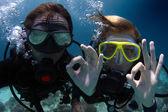 Divers — Stock Photo